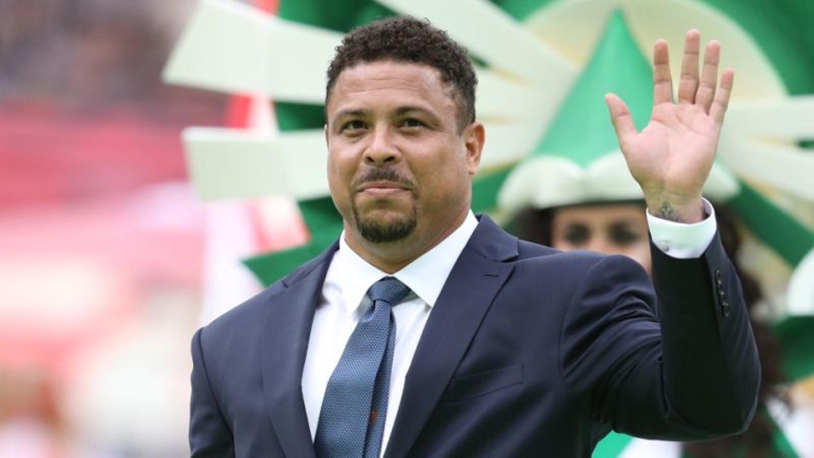 L'exfutbolista Ronaldo, ingressat a Eivissa, per una neumonia