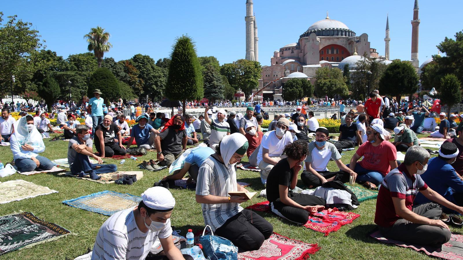 La Turquia d'Erdogan 'reconquesta' Santa Sofia