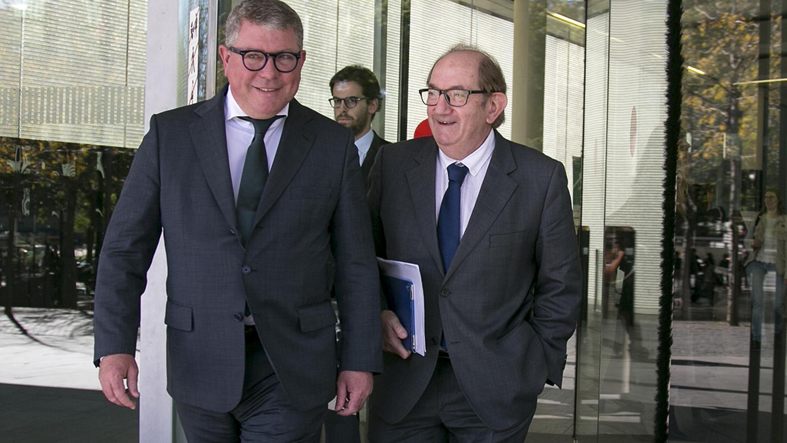 El judici entre els germans Font, propietaris de Bon Preu, queda vist per a sentència