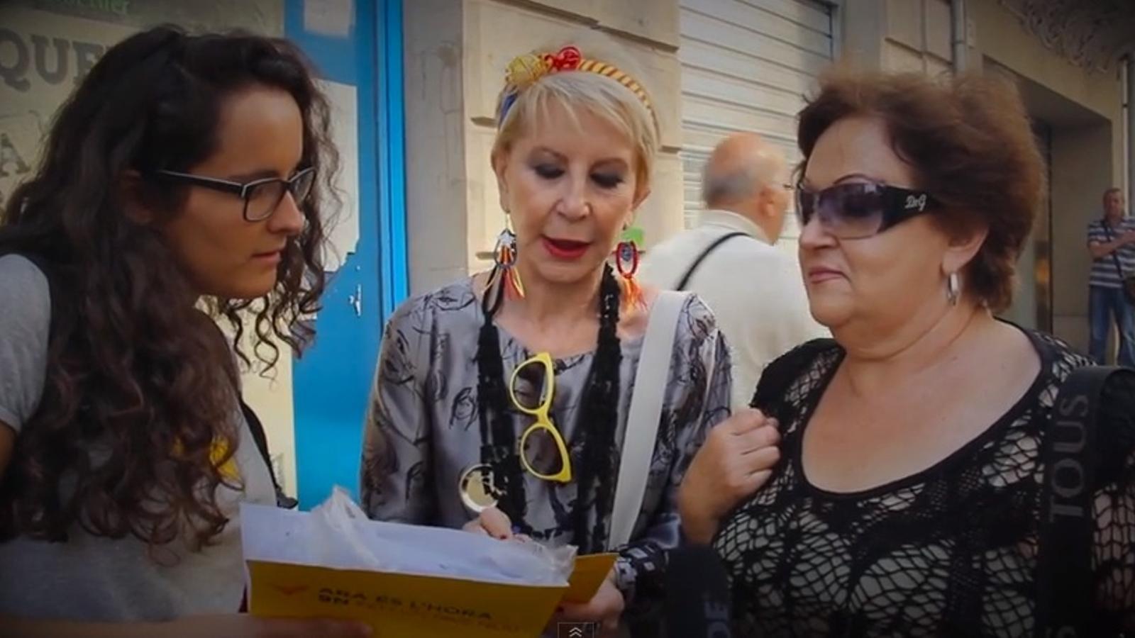 'Comencem a escoltar el país!': el vídeo de la gigaenquesta