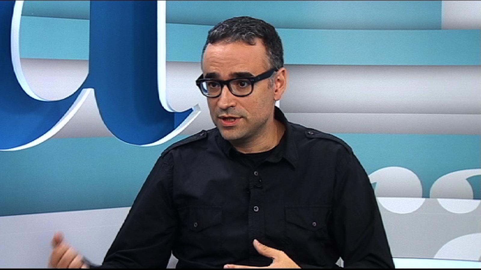 Xavi Sarrià: Se'ns ha fet representants, sobretot en el cas valencià, de la gent amb ganes de canvi