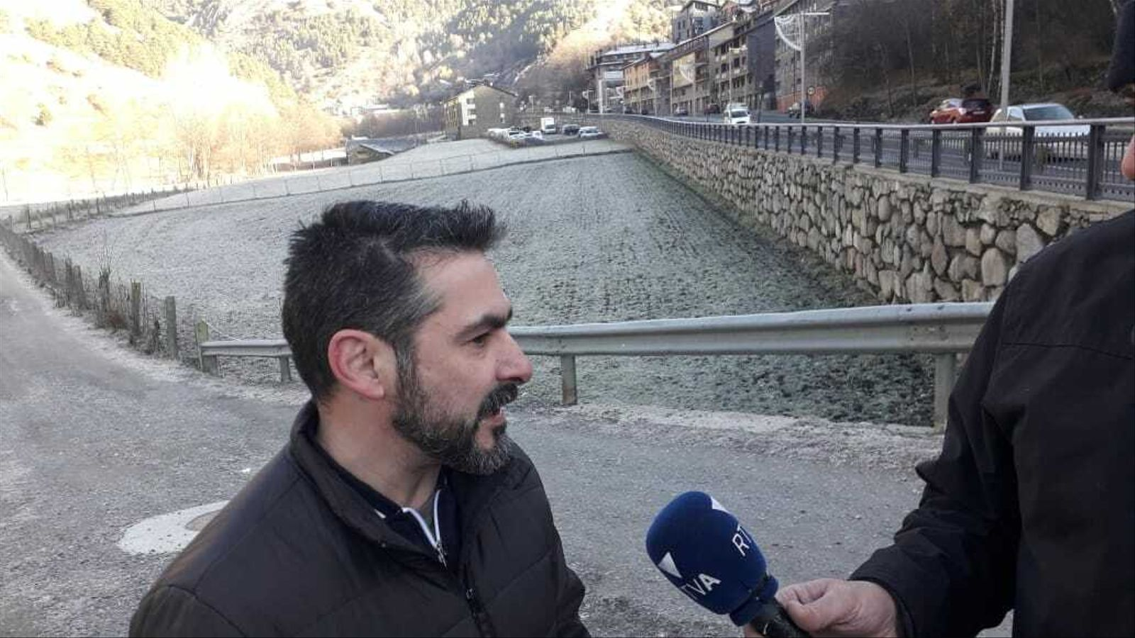 El candidat a cònsol major de Terceravia + Independents Ordino, Jordi Balsa. / TERCERAVIA