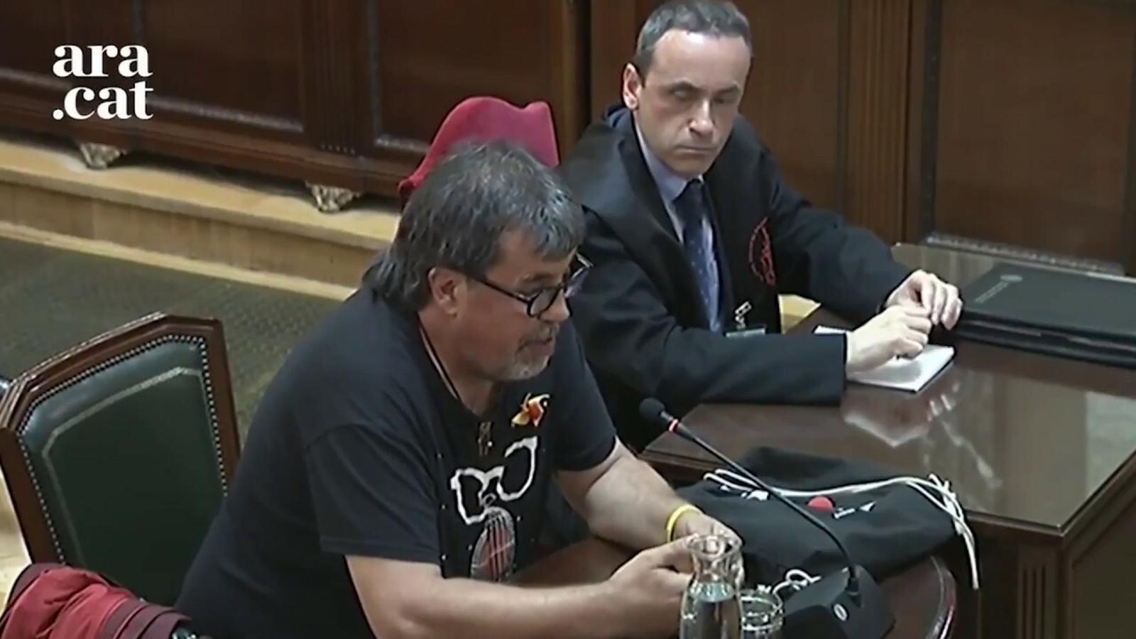 Ramon Font, Pesarrodona i altres votants de l'1-O declaren al judici