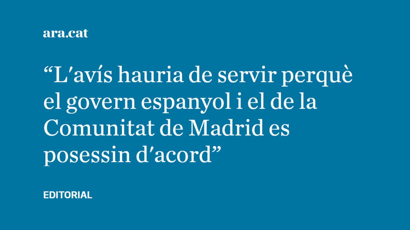 La gestió de la pandèmia a Espanya preocupa la UE