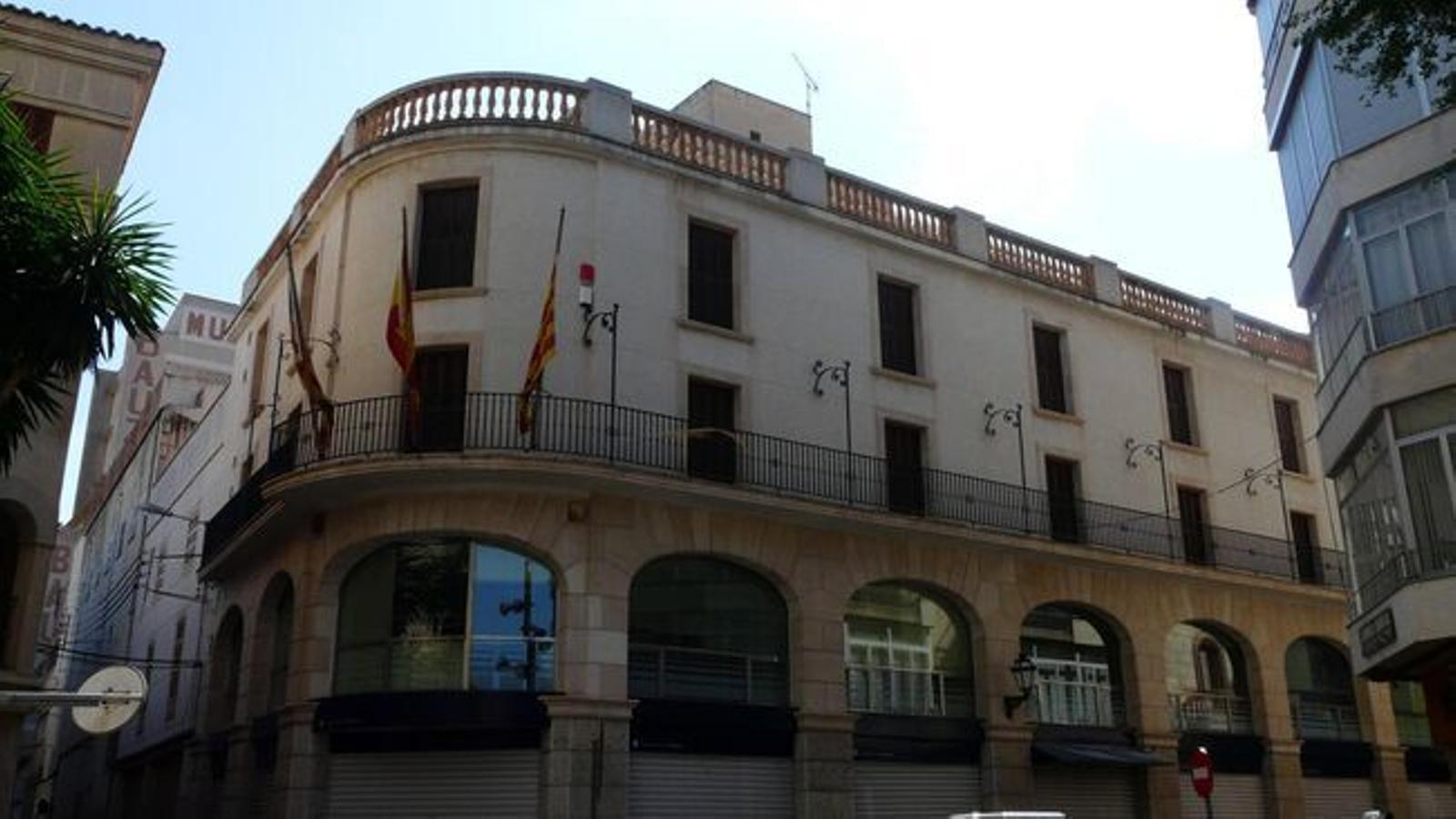L'Ajuntament de Manacor./ ARXIU