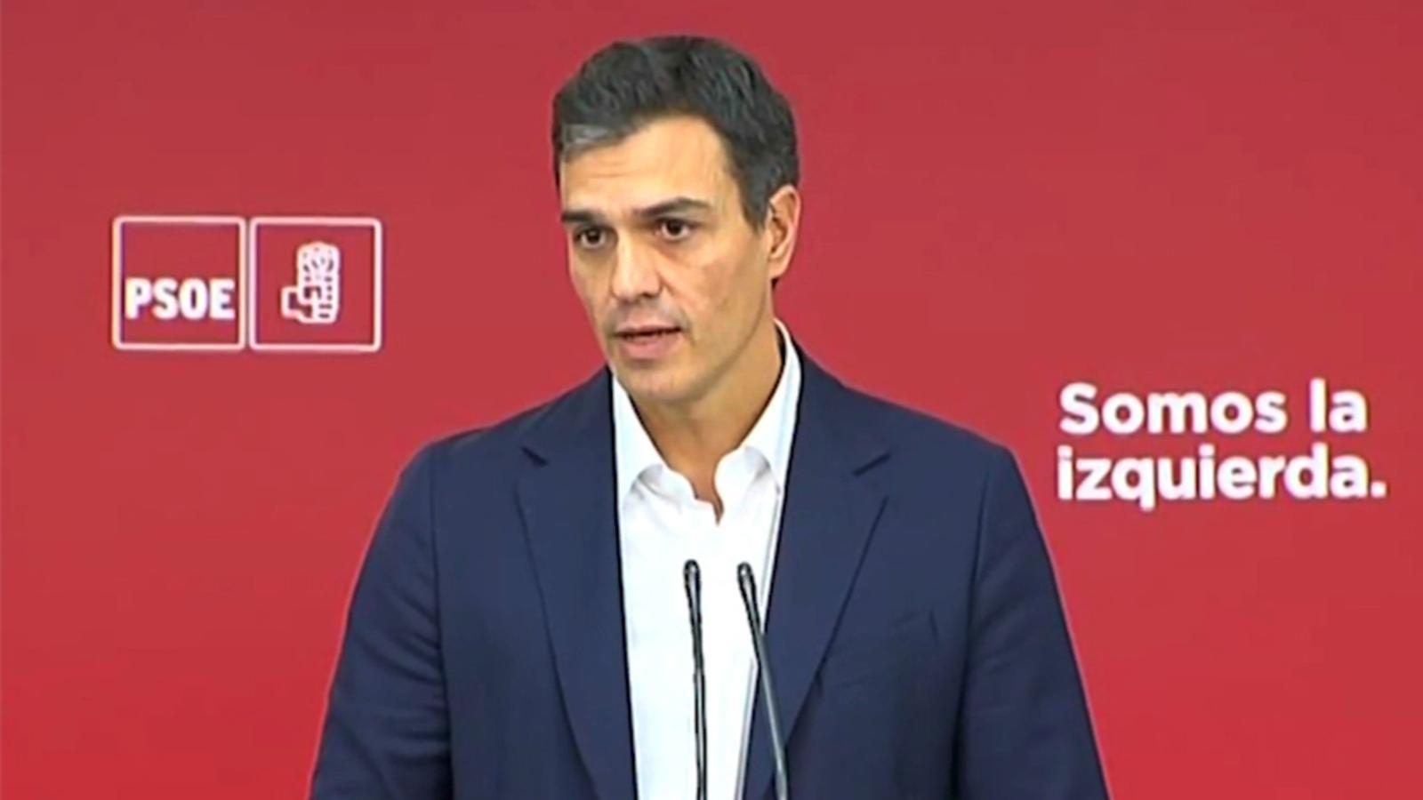 """Sánchez: """"L'acord que tinc amb el president Rajoy és obrir la via de la reforma constitucional"""""""