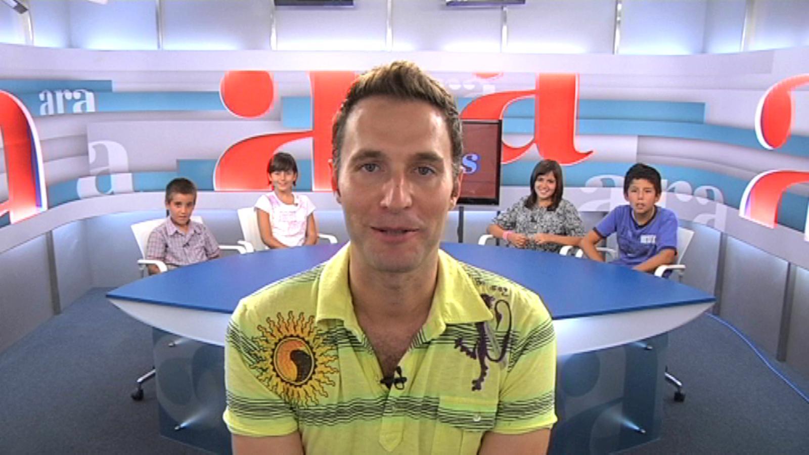 Ara Kids: Els nens entrevisten Dani Jiménez