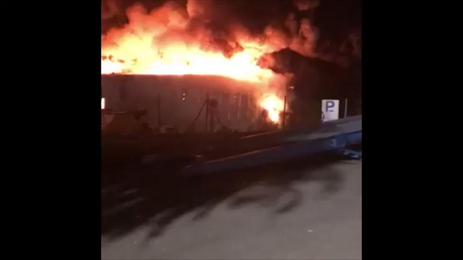 Les imatges de l'incendi