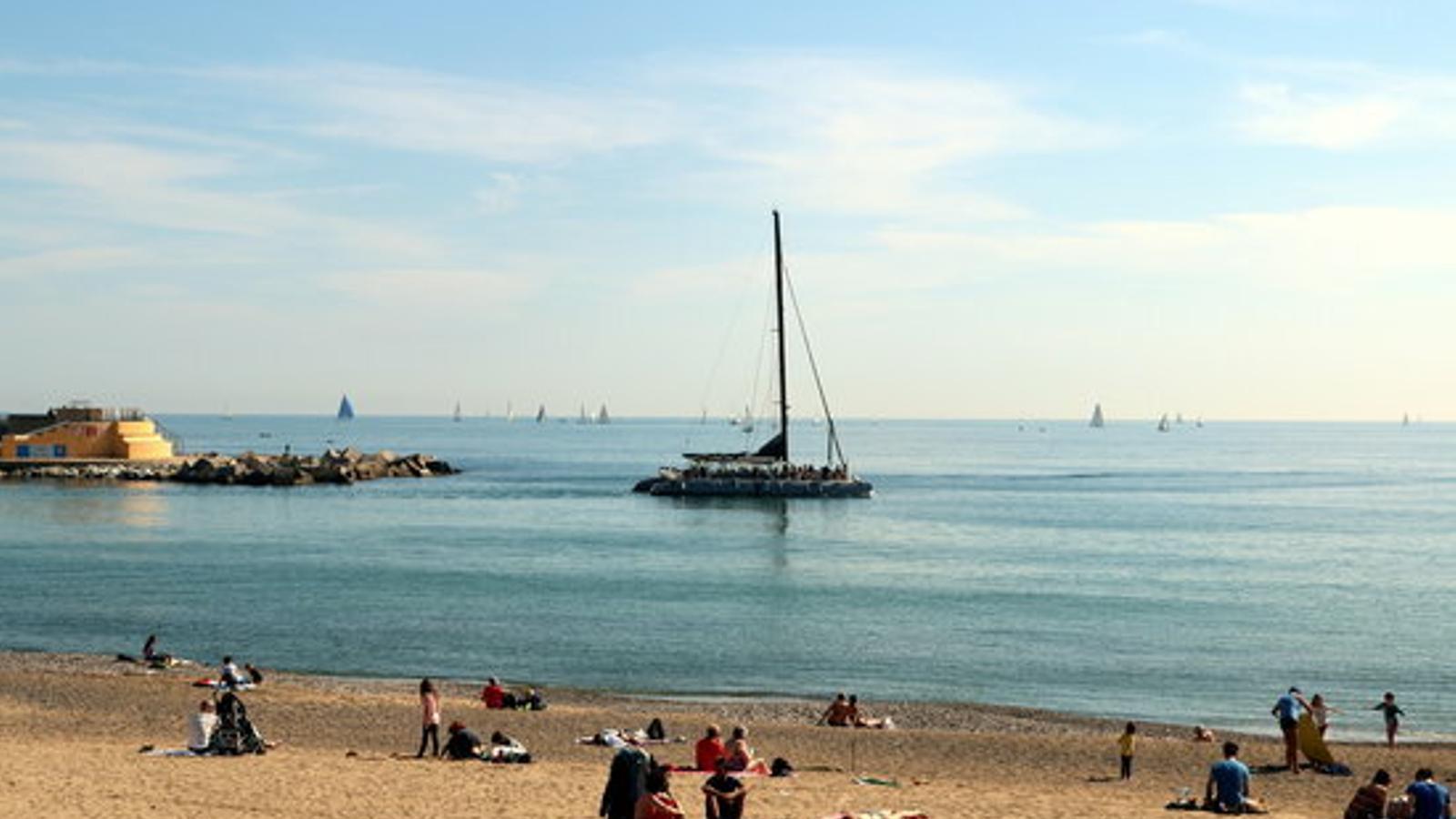 Les platges catalanes obtenen 97 banderes blaves, quatre menys que l'any anterior