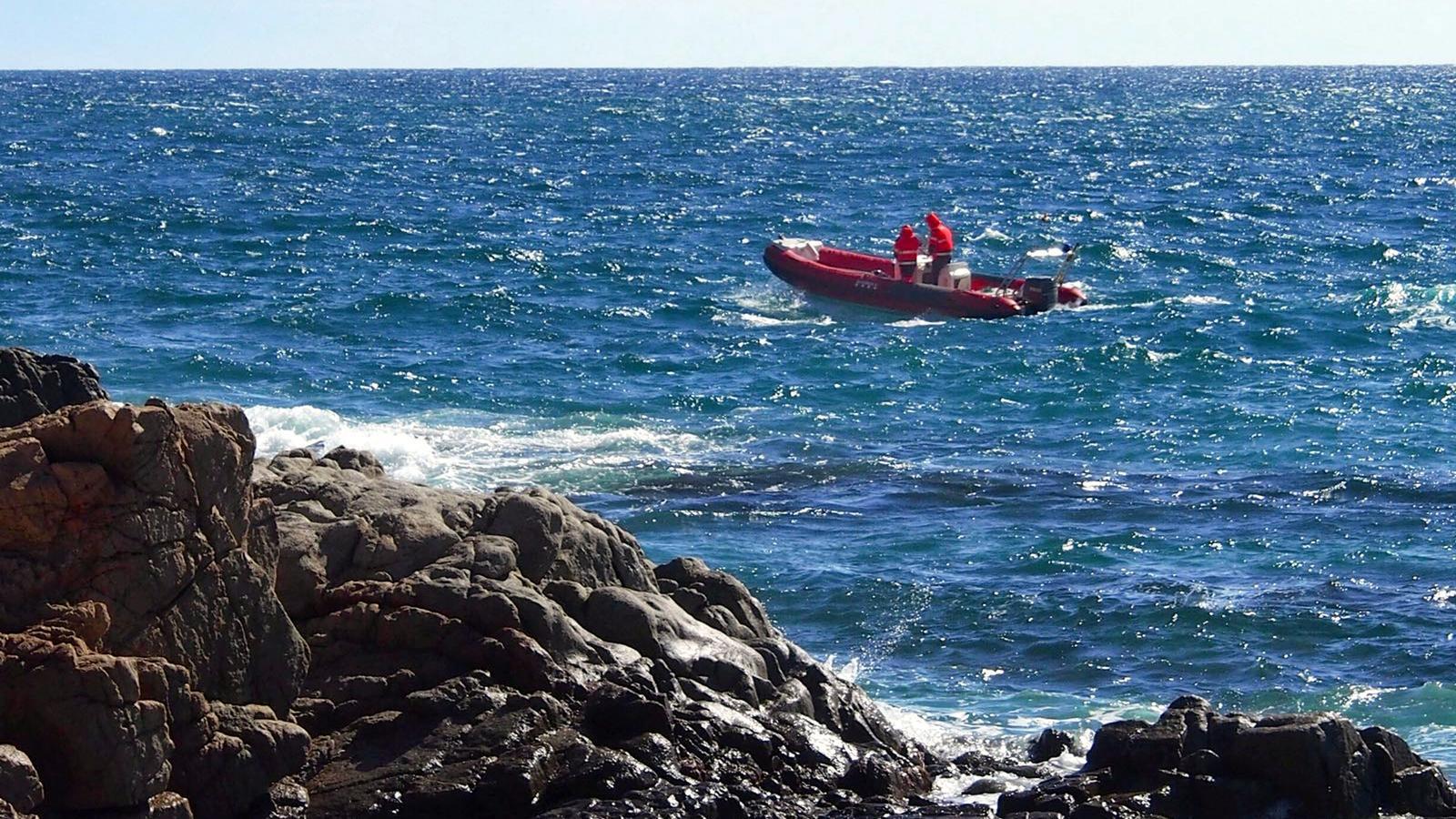 Busquen un caiaquista de 58 anys que es va perdre entre Blanes i Mataró