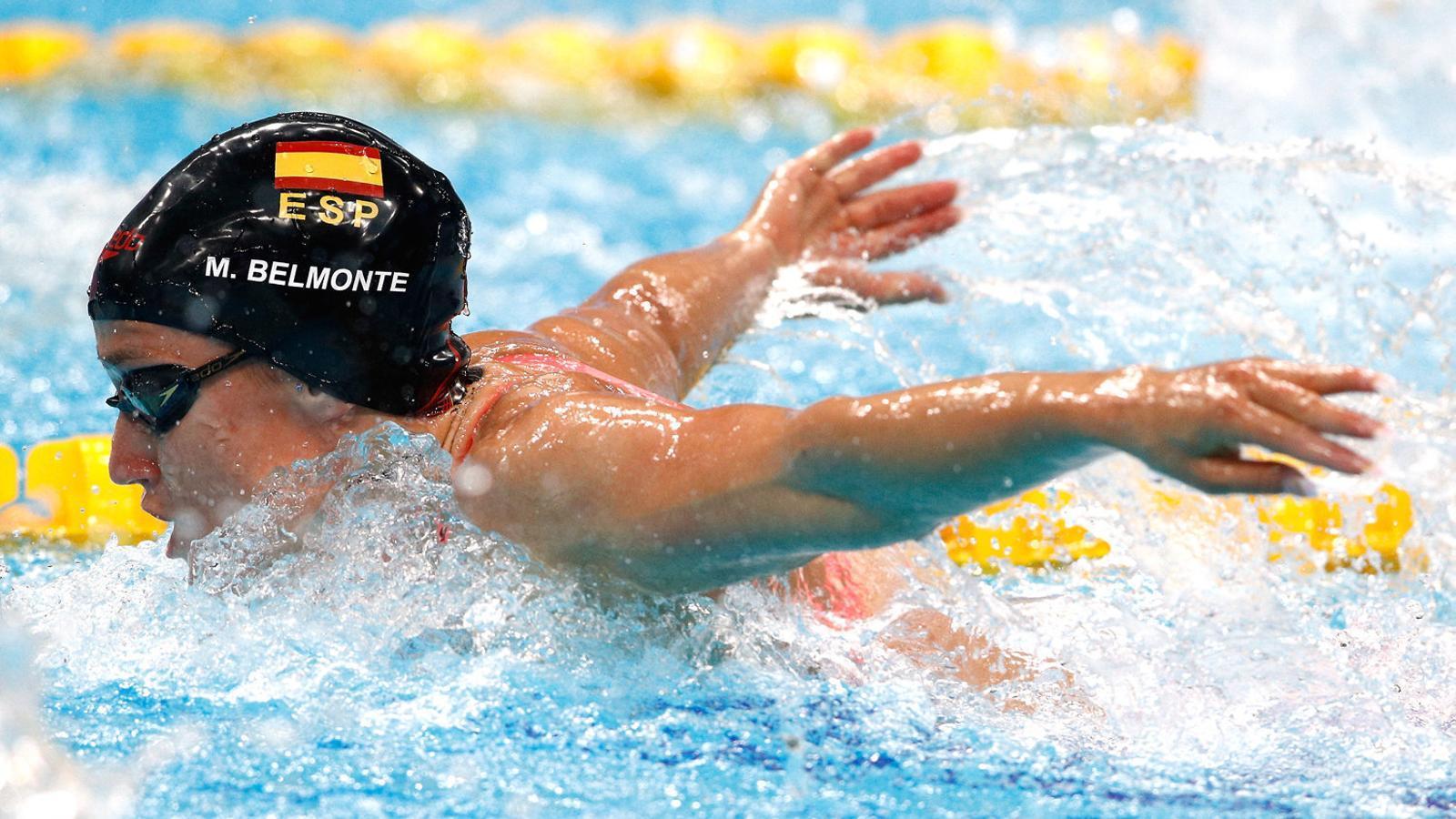 Belmonte, plata en 400 estils, ja suma sis medalles mundials