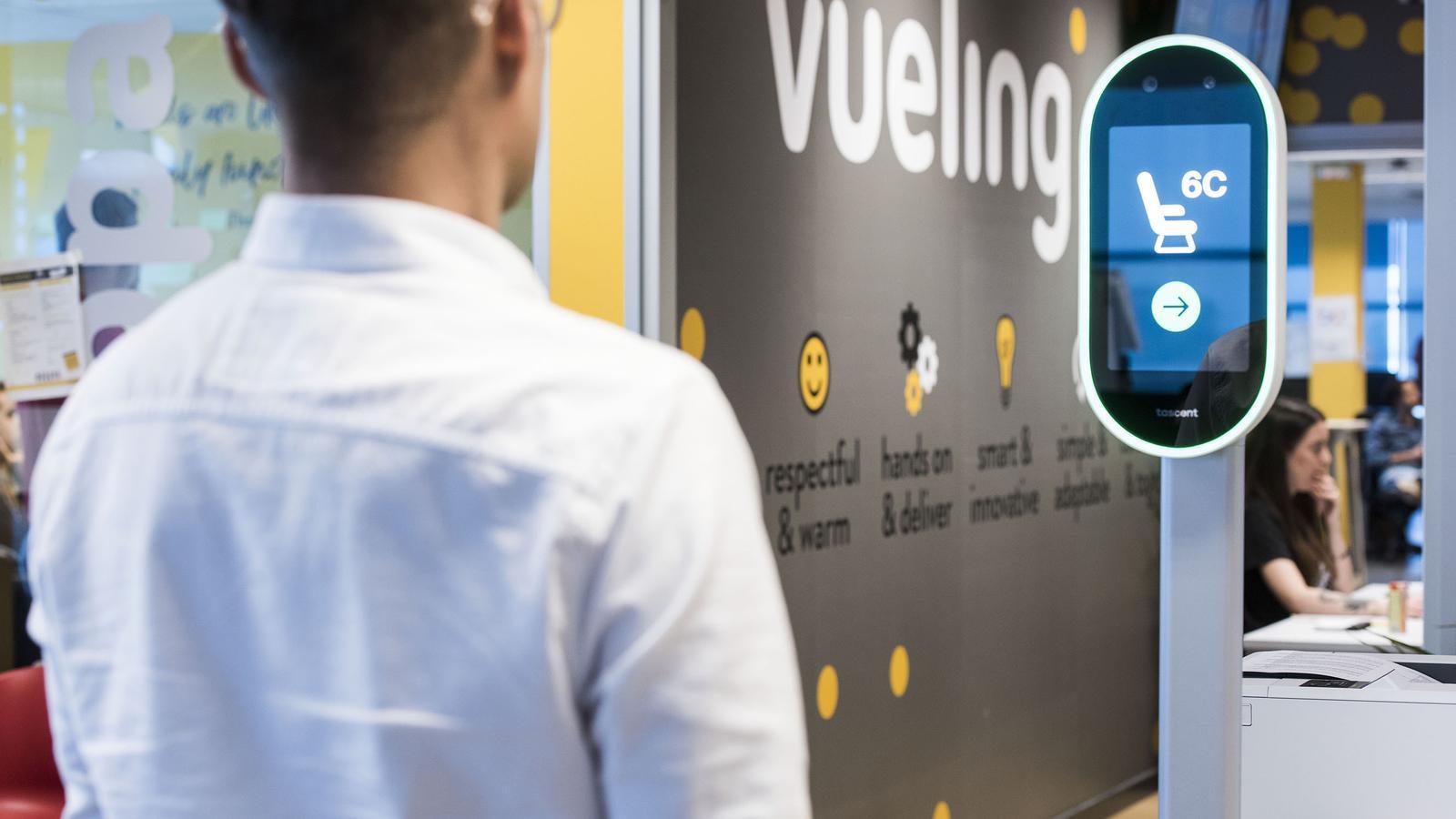 Vueling prepara una xarxa social per als seus passatgers