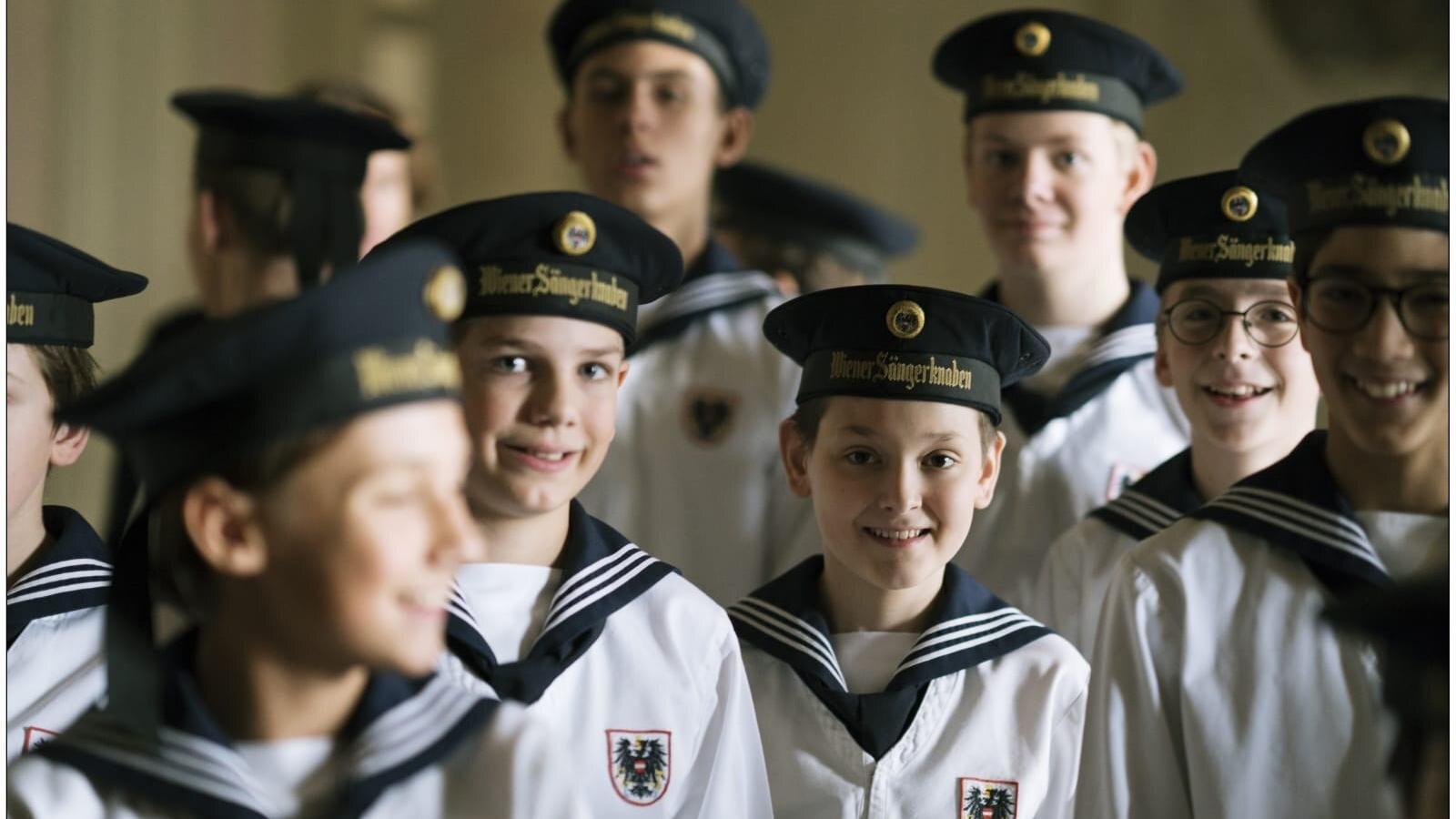 Membres del Cor de Nens de Viena