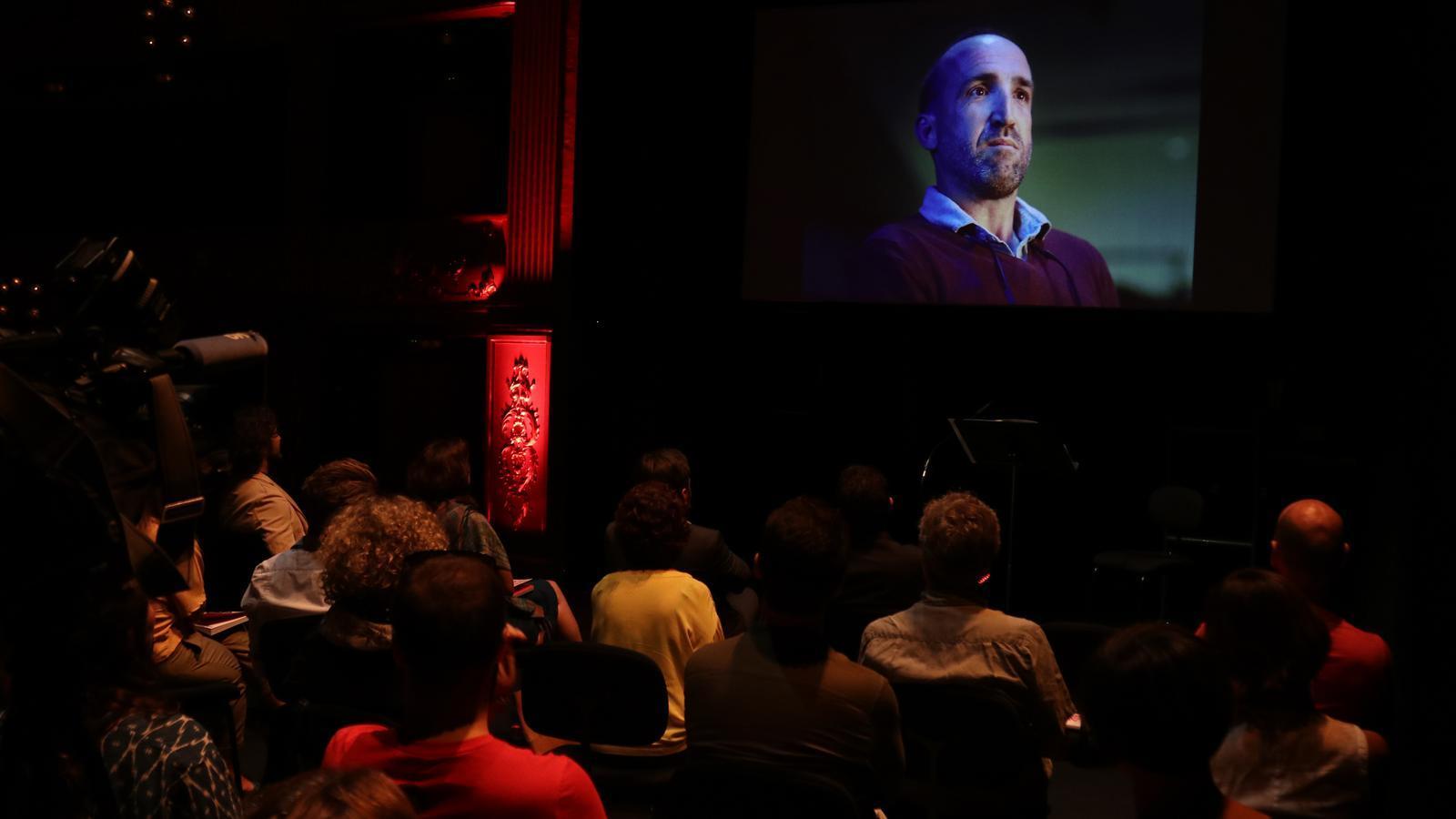 Presentació del vídeo promocional de la Temporada 2018-2019 del Teatre Principal./ISMAEL VELÁZQUEZ
