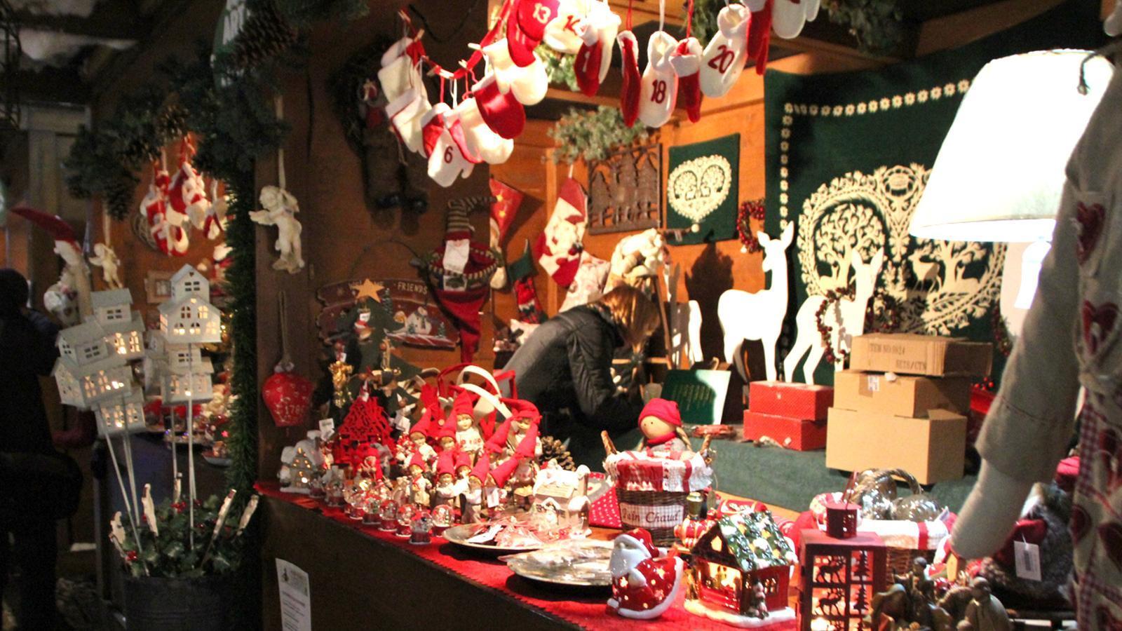 El Mercat de Nadal de La Massana /Arxiu ANA