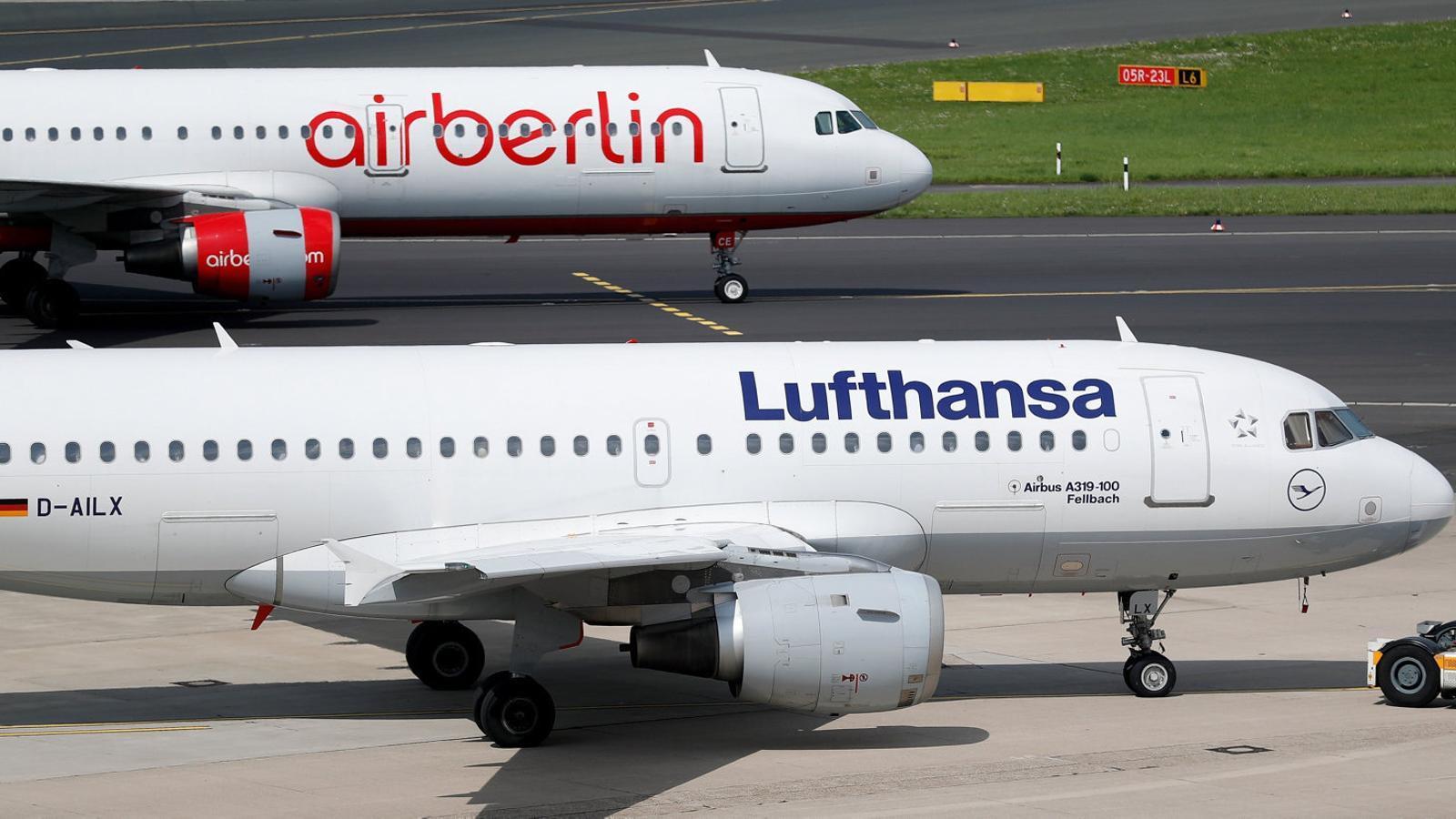 """Ryanair denuncia a Brussel·les """"un complot"""" per salvar Air Berlin"""