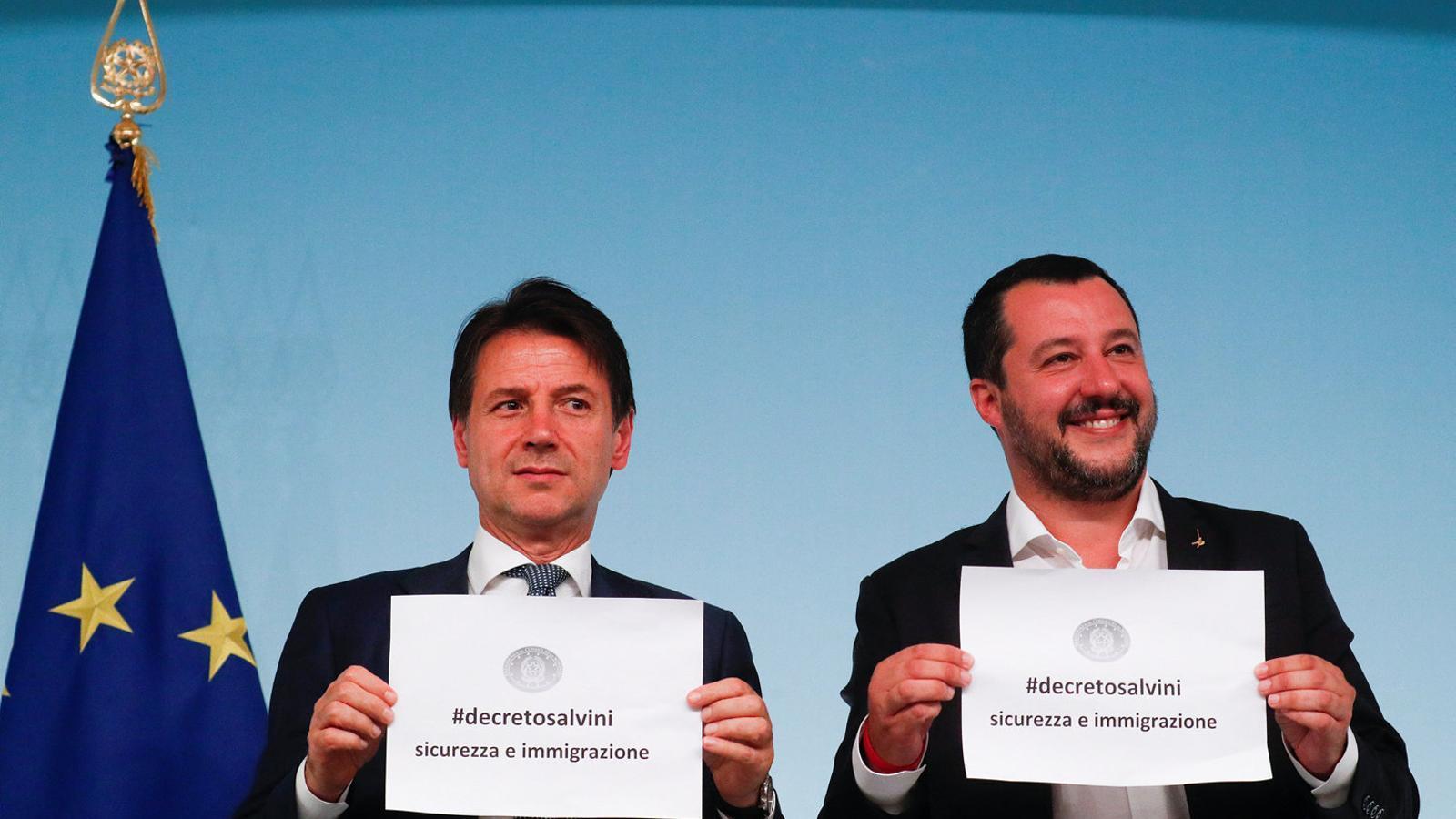 El govern italià dona suport al decret Salvini sobre immigració