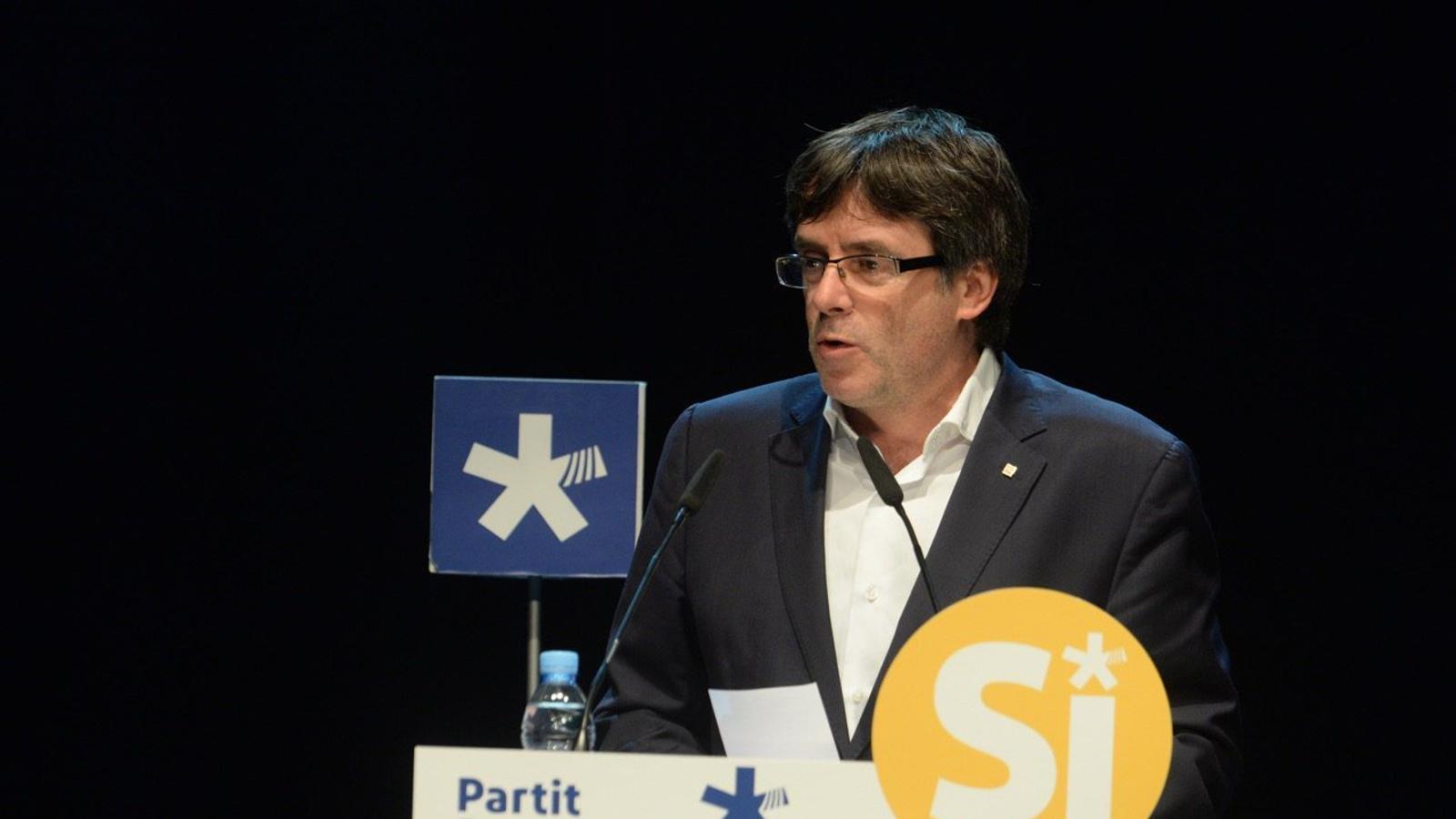Mitín de Precampanya Junts per Girona Puigdemont-Hi-satreveixen-decretar-lo-oficialment_1870023279_46975370_1280x852