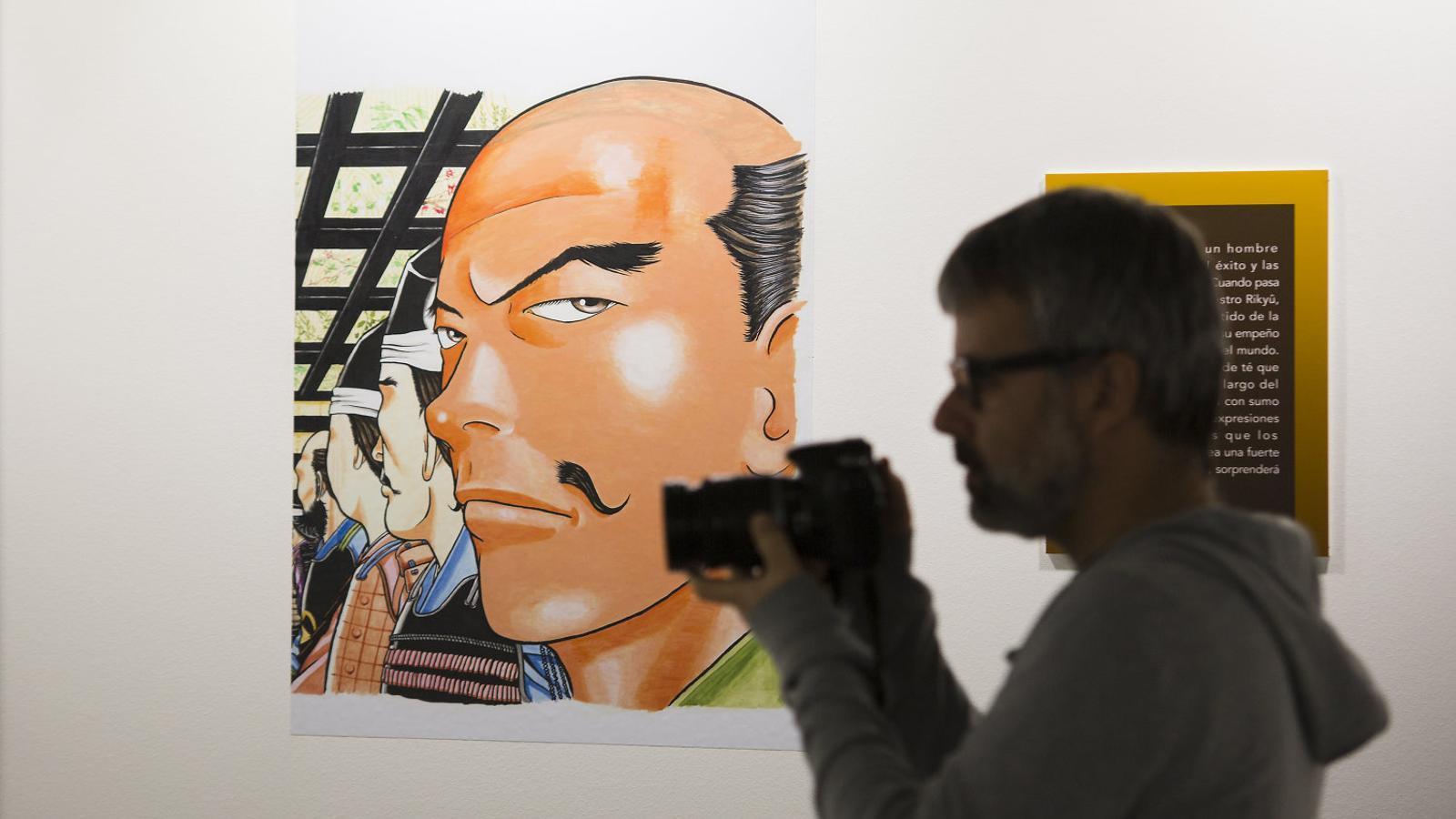 Invasió de dibuixos originals  al Saló del Manga