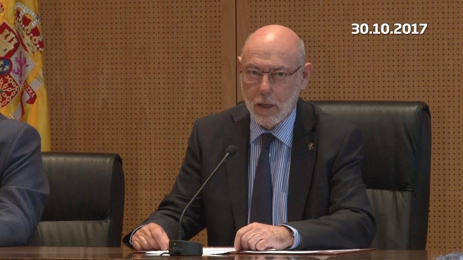 La Fiscalia es querella contra el Govern i part de la mesa del Parlament