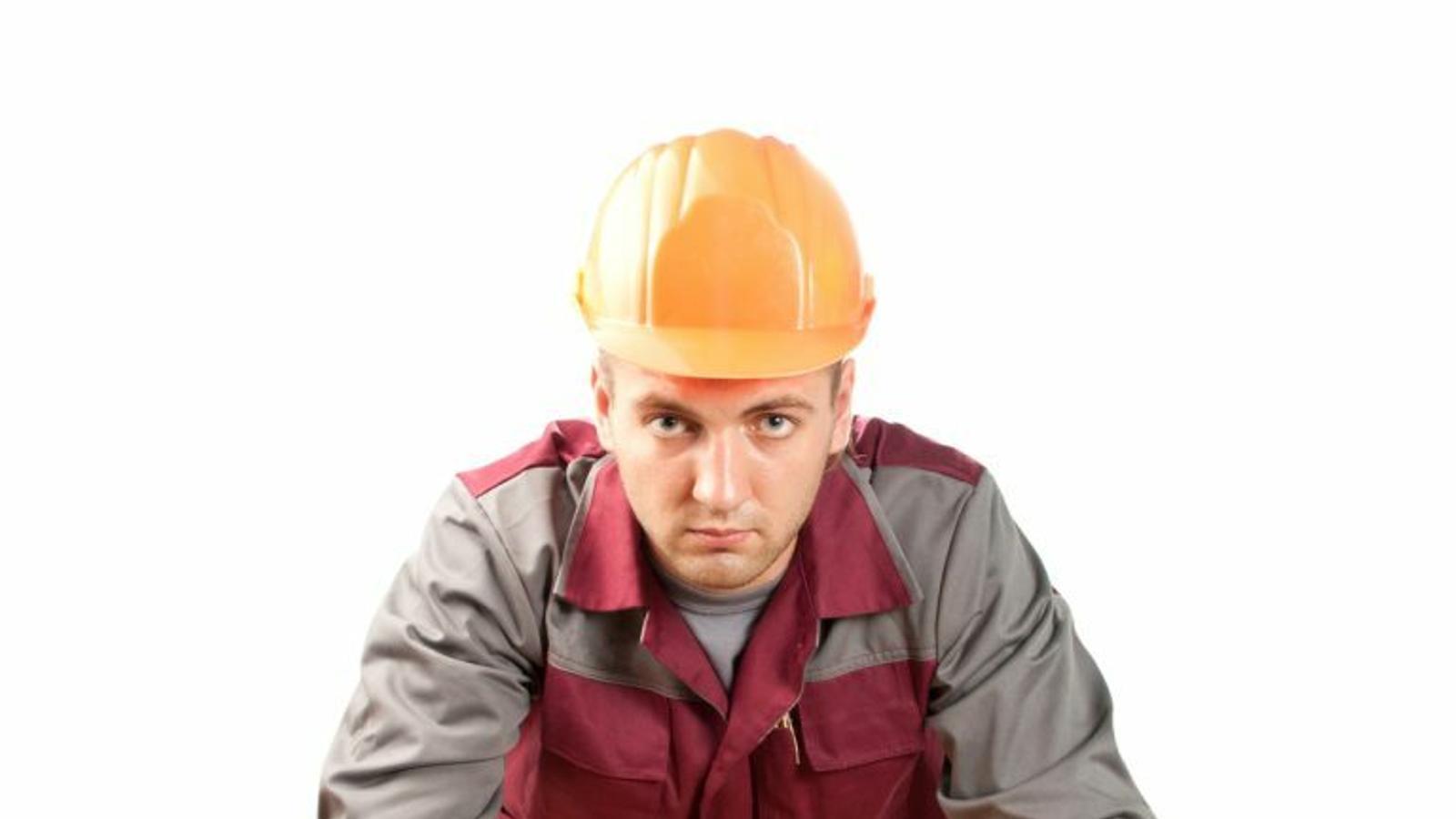 Una imatge comercial d'un electricista. / Nuñez Construccions