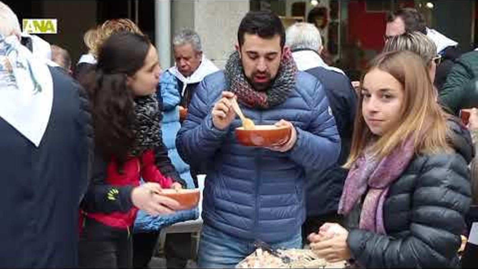 50a edició de l'escudella de Sant Antoni d'Andorra la Vella