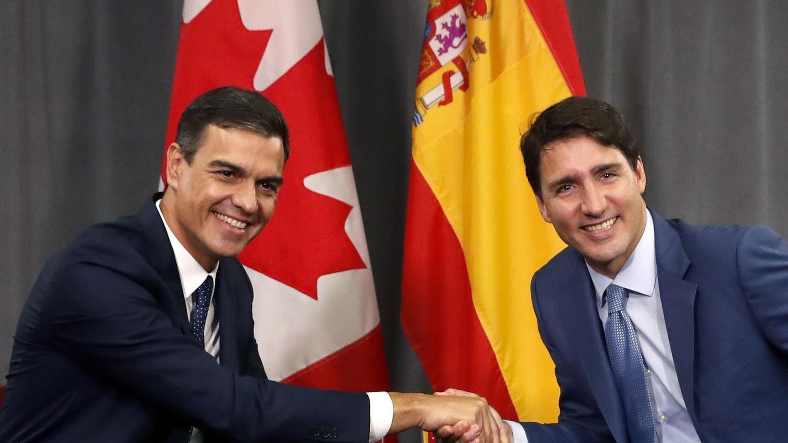 """Sánchez, partidari d'aprendre del Quebec per trobar una """"solució política"""" al cas català"""