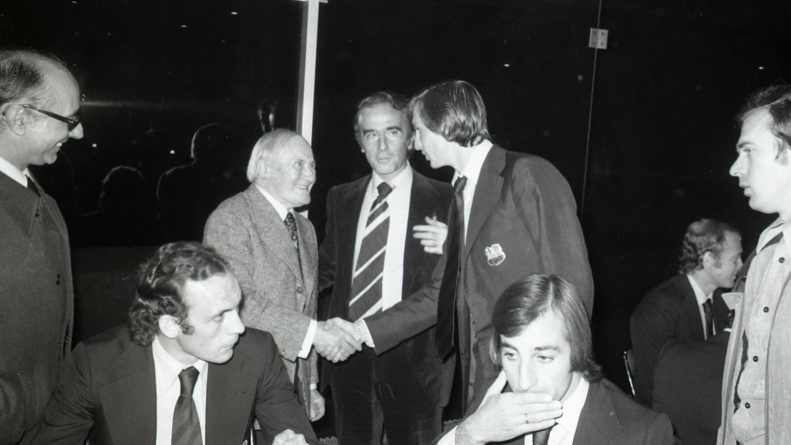 Miró-Cruyff,  trobada a París 1974