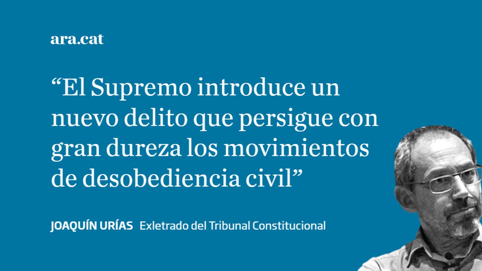 Salvar la unidad de España más allá de la ley