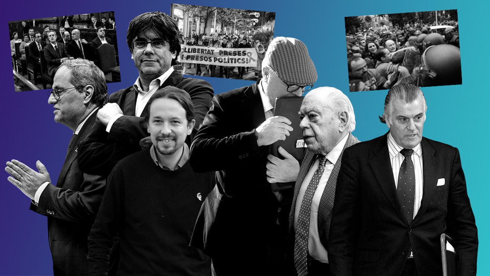 2021: un altre curs polític protagonitzat pels tribunals