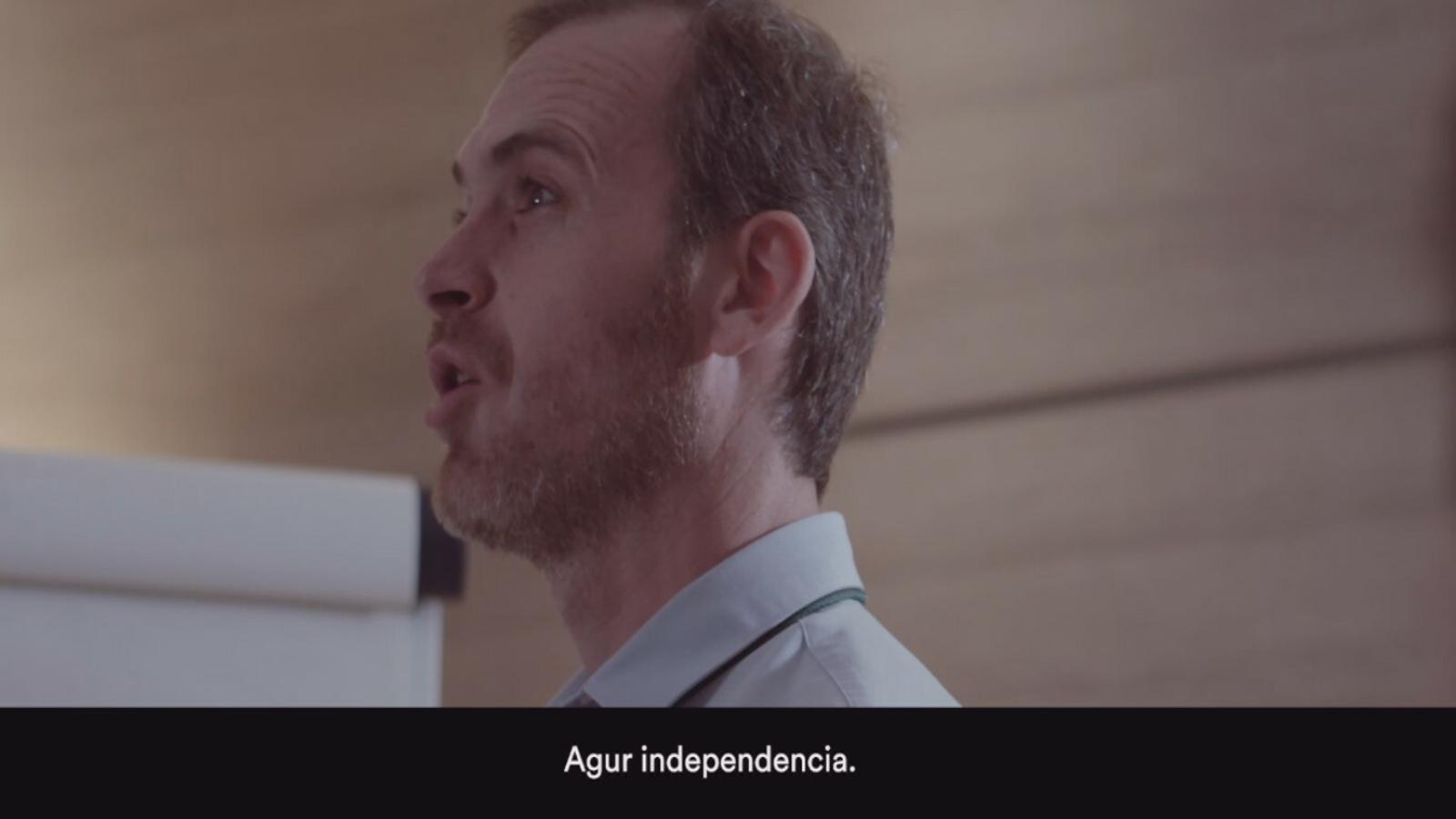 Un nou vídeo de Ciutadans mostra un PNB deprimit per la victòria de Rivera