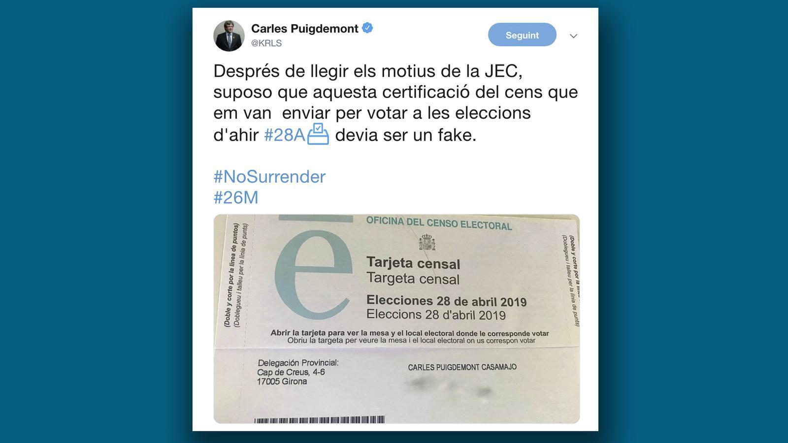 L'anàlisi d'Antoni Bassas: 'Contra Puigdemont, no hi ha dret'