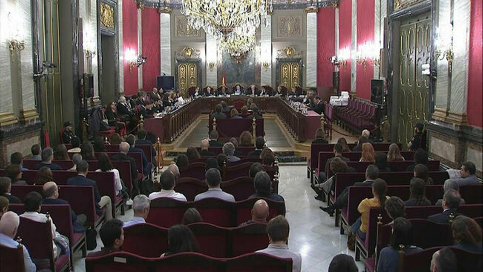 Fiscalia i Advocacia de l'Estat s'oposen a la llibertat dels presos polítics