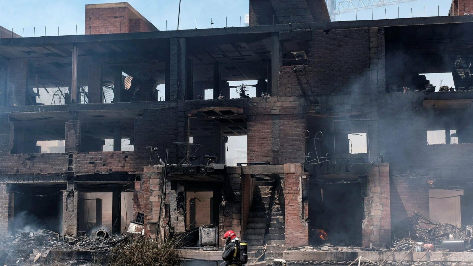 L'incendi d'un edifici ocupat a Eivissa podria ser un crim masclista