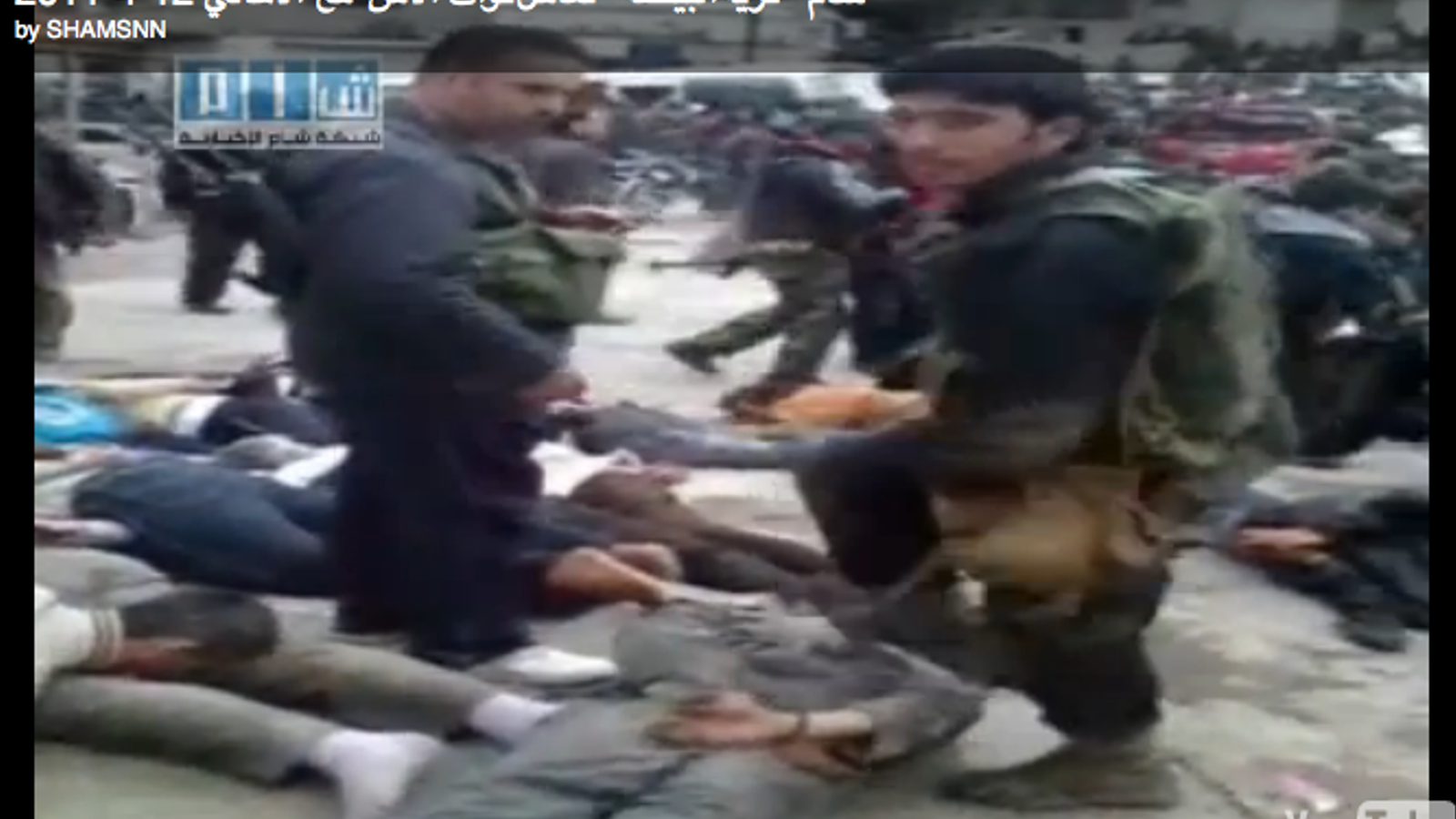 Forces de seguretat síries colpegen els manifesants