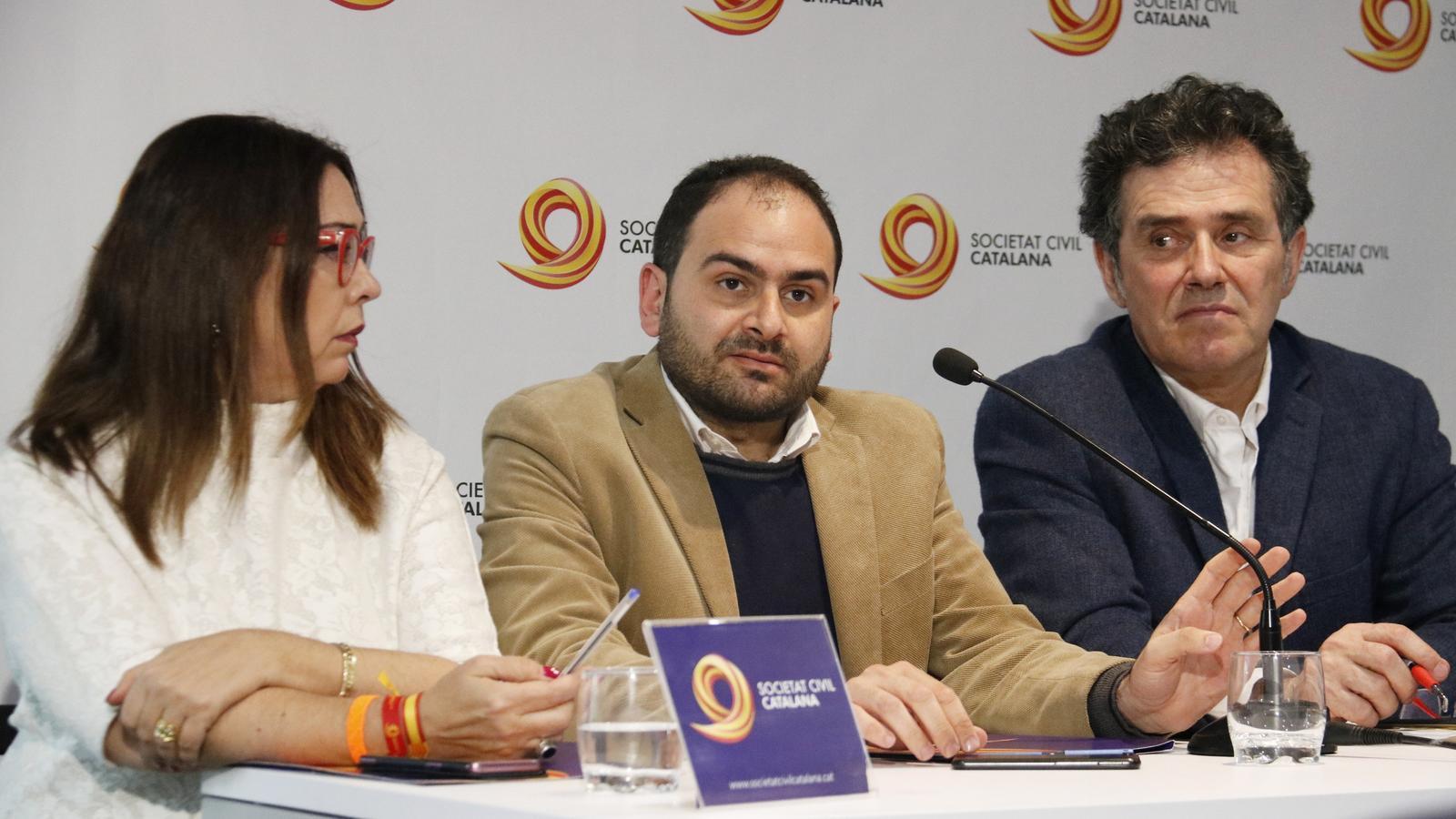 Sonia Reina, Fernando Sánchez Costa i Àlex Ramos, aquest matí