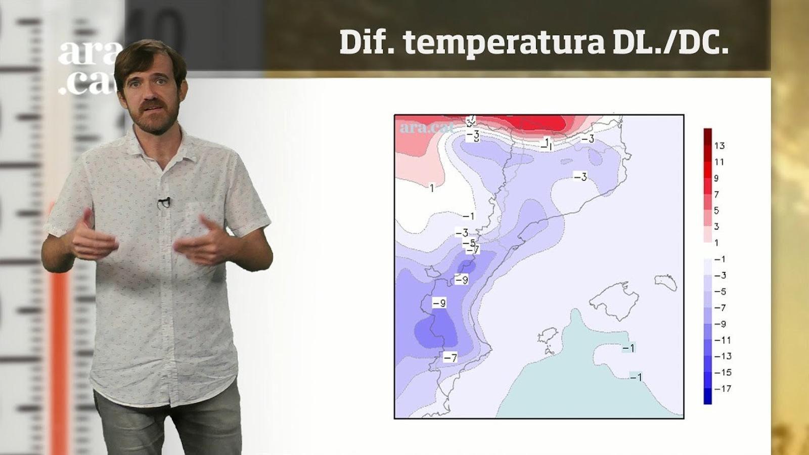 La méteo en 1 minut: ambient més de tardor i vent a la costa