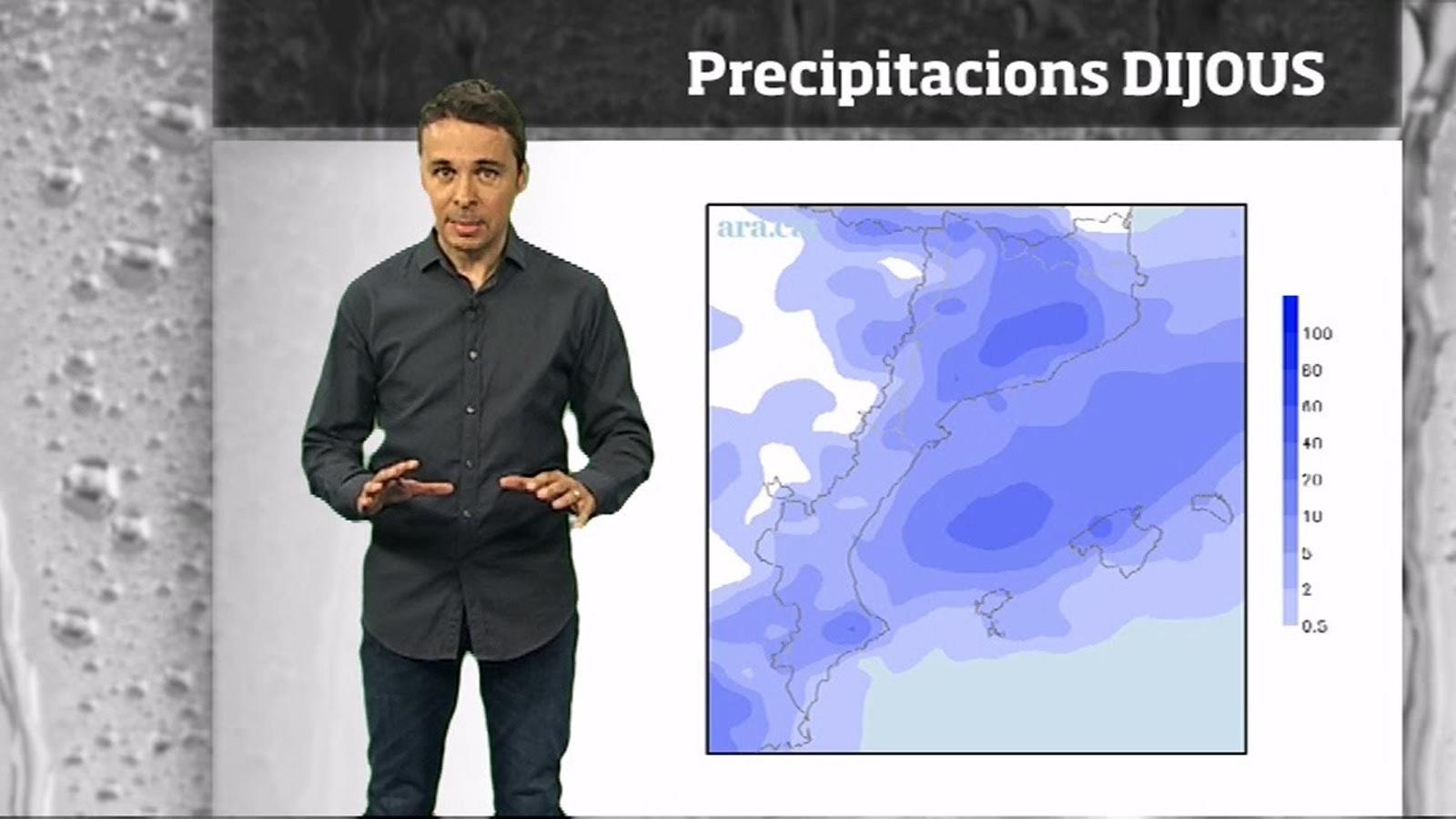 Méteo especial: pluges més generals i clara baixada de les temperatures