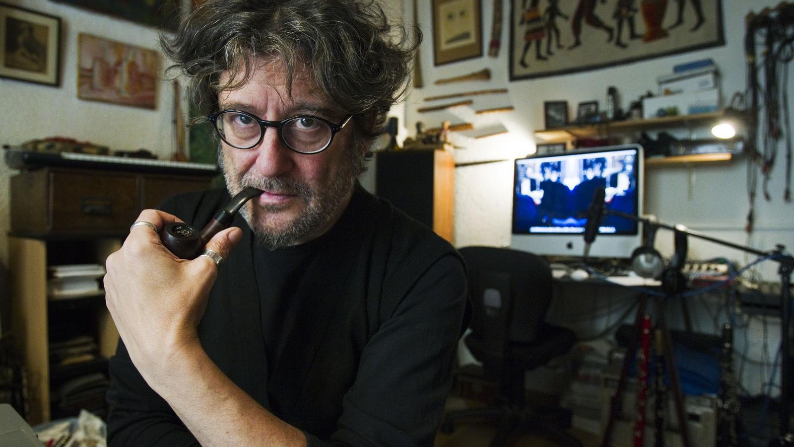 Víctor Nubla a casa seva l'any 2012