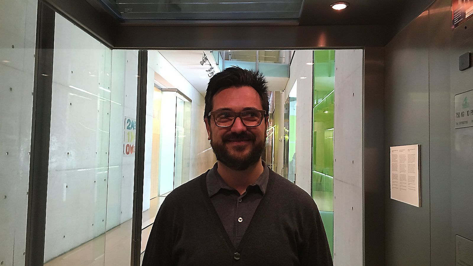 Mateu Malondra, de l'associació Placa Base.