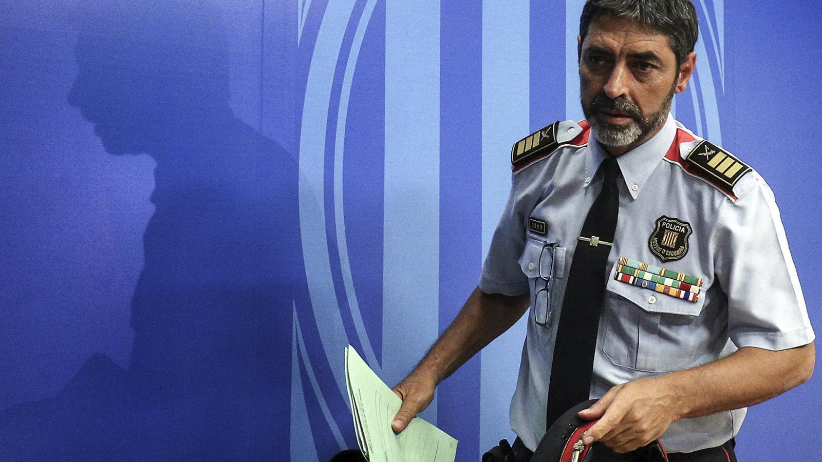 L'Audiència Nacional confirma el processament de Trapero per sedició i organització criminal