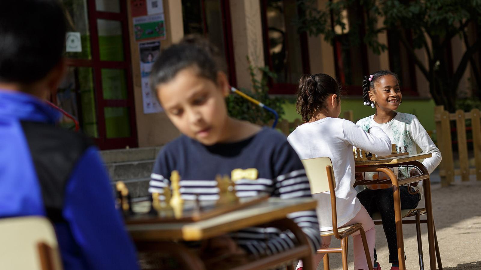 L'escola Àgora, al barri Sant Narcís de Girona / DAVID BORRAT