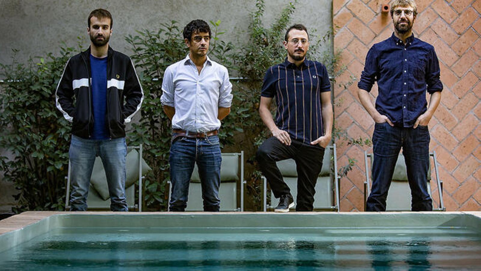 El quartet barceloní Manel.