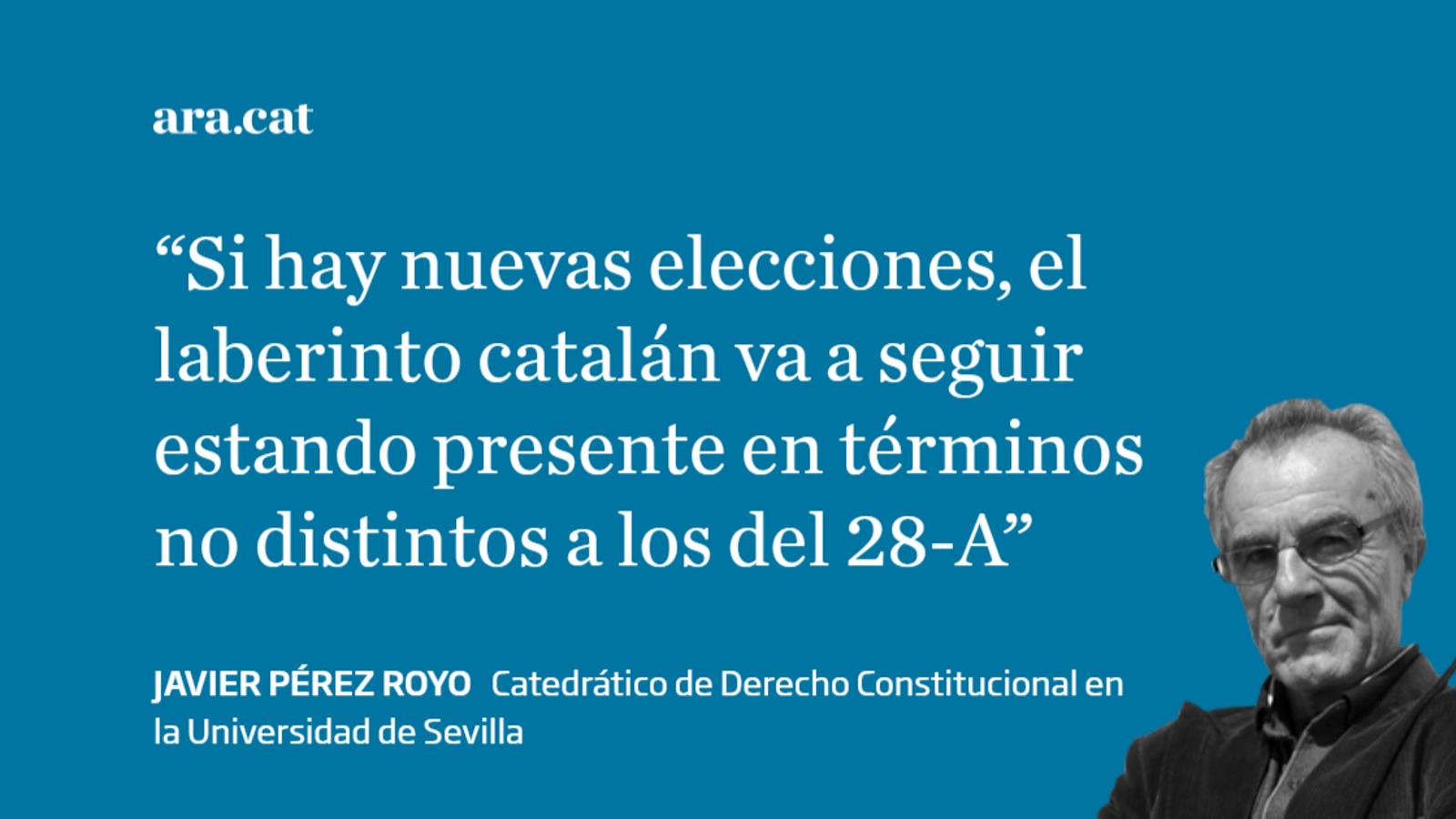 El laberinto catalán de Pedro Sánchez