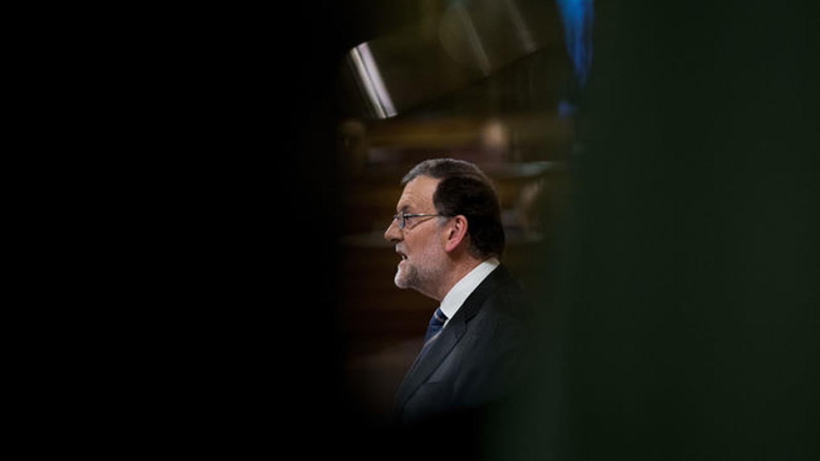 """Rajoy: """"Tinc més a veure amb el PSOE que amb els partits independentistes"""""""