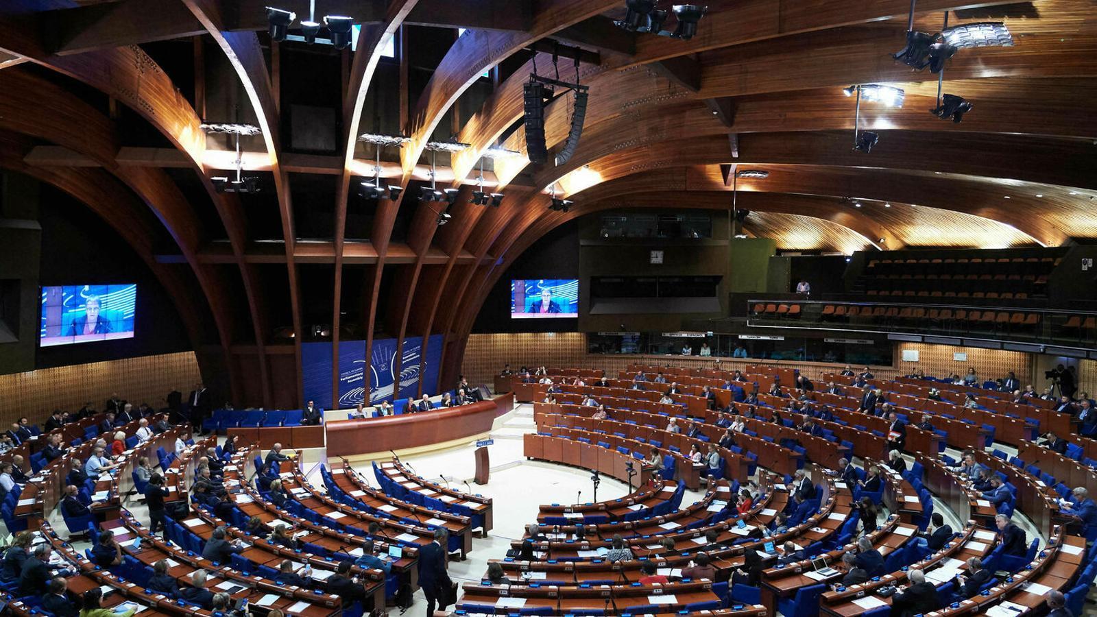 Sessió de l'assemblea parlamentària del Consell d'Europa, a Estrasburg. / ELLEN WUIBAUX - CONSELL D'EUROPA