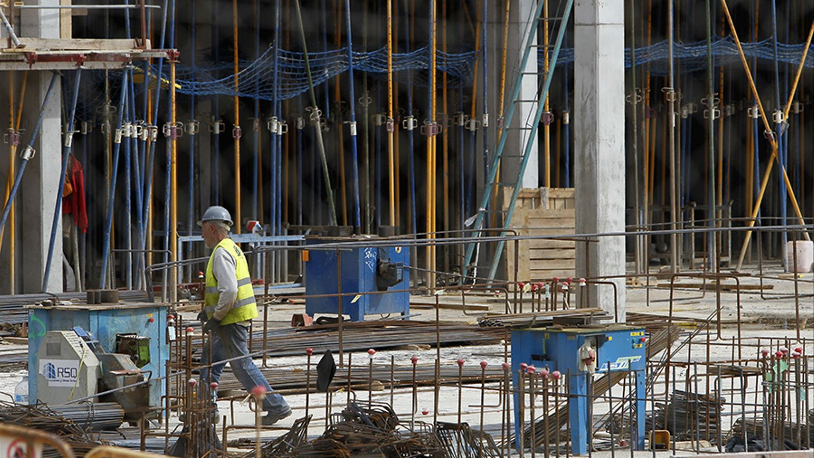 Treballadors de la construcció. / I. BUJ