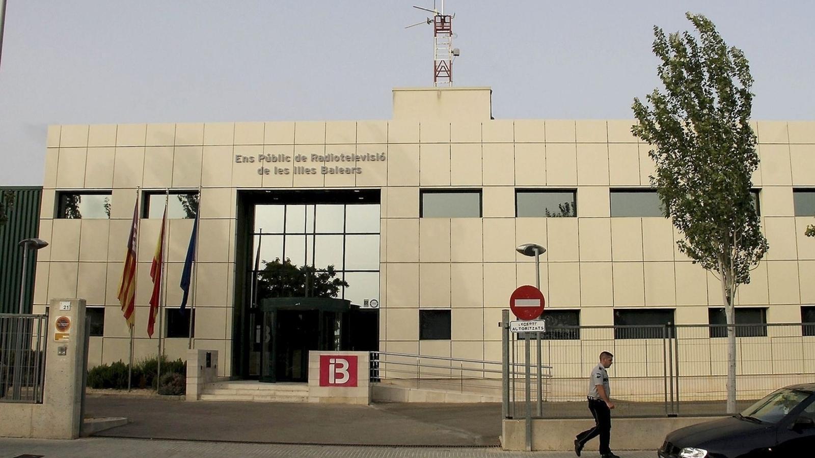 Edifici d'IB3 al polígon de Son Bugadelles