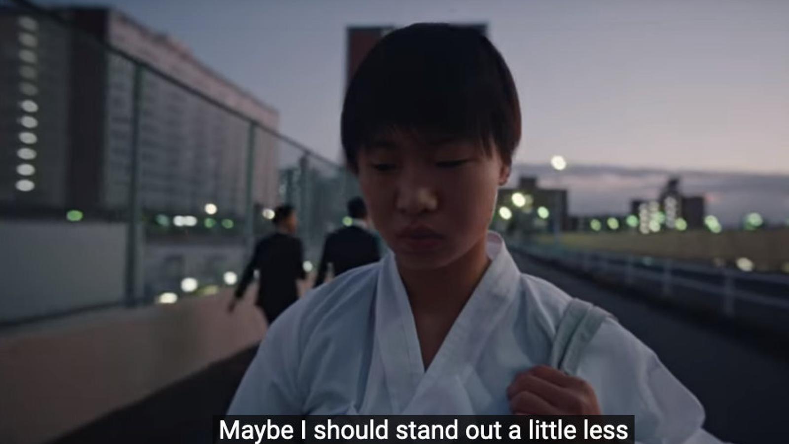 Nike ensopega amb el racisme al Japó