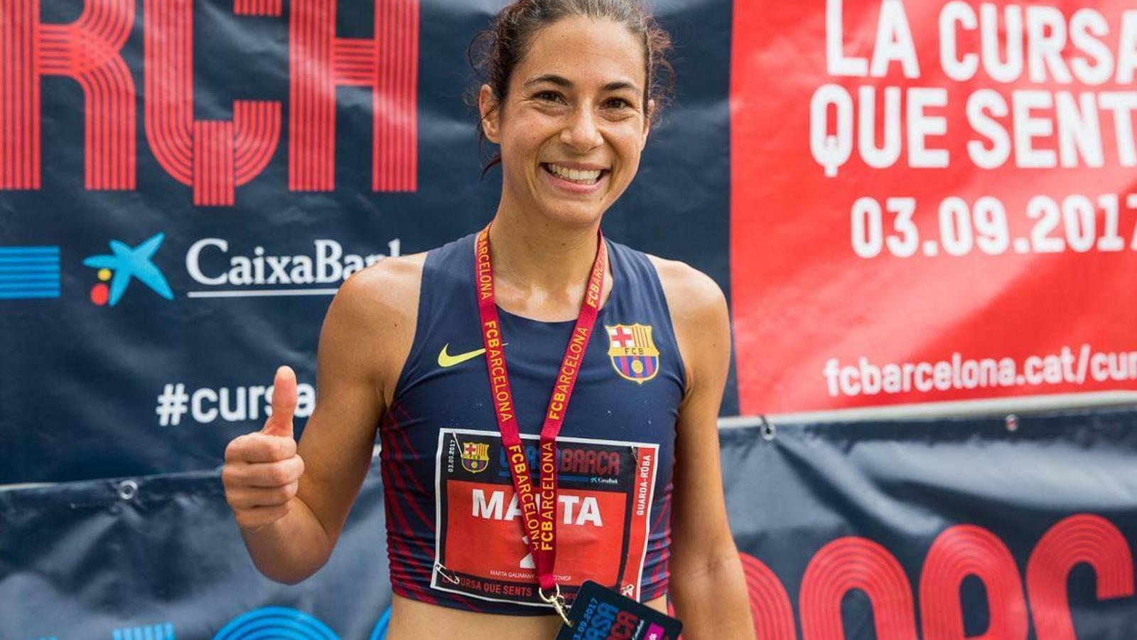 Marta Galimany va aconseguir la mínima olímpica per ser als Jocs